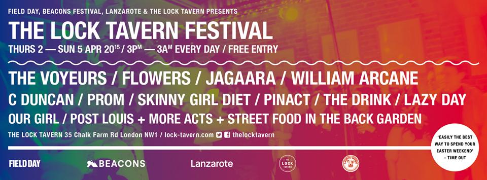 The Lock Tavern Festival 2015 Banner